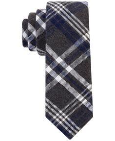 Tommy Hilfiger Harris Plaid Slim Tie - Ties & Pocket Squares - Men - Macy's
