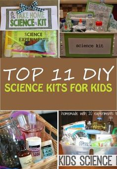 Is your child interested in science experiments? You have to take a look at these DIY science kits for kids. Best 11 homemade science kits to keep the kids busy. Fun activity for preschoolers, kindergartners and elementary school kids.