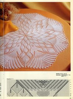 Мобильный LiveInternet Журнал «Muestras y Motivos Tricot Hogar 01 Lace Knitting Patterns, Lace Patterns, Knitting Stitches, Baby Knitting, Lace Doilies, Crochet Doilies, Knit Crochet, Tricot D'art, Crochet Magazine