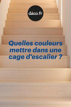 Que vous la souhaitiez discrète ou originale, vous devez apporter tout le soin qu'elle mérite à la décoration de votre cage d'escalier. C'est en effet un lieu de passage quotidien qui se doit donc d'être agréable et soigné. Les couleurs à lui appliquer doivent donc être choisies avec le plus grand soin. Decoration, Diy, Home Decor, Stairs, Do It Yourself Crafts, Homes, Tips, Colors, Decor
