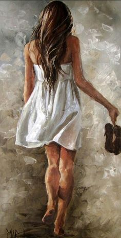 Original Fine Art Painting by Maria Magdalena Oosthuizen. Medium: Acrylic on Canvas. Stretched, and Blocked, Not Framed. Painting People, Woman Painting, Figure Painting, Painting & Drawing, Fine Art, Beautiful Paintings, Figurative Art, Painting Inspiration, Female Art