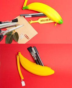 [바보사랑] 리얼하다! 바나나필통 /필통/문구/디자인문구/바나나/과일/필기구/Pencil/Stationery/Stationery Design/Banana/Fruit/Writing