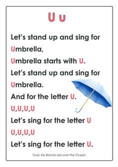 ABC Songs – Letter U
