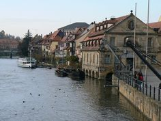 The old port of Bamberg, Germany