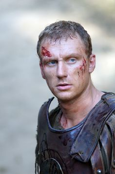 Kevin McKidd as Lucius Vorenius, Rome TV Series - Season 2 Episode 4 Still
