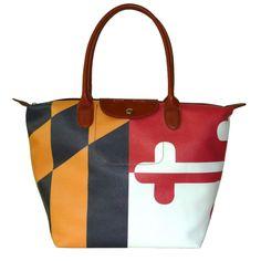 Maryland Flag Handbag - $76.99
