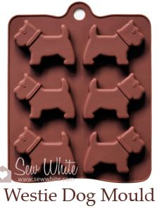 Westie dog mold   Not sure that I would do with it, but it's cute anyway