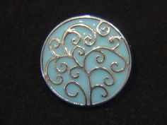 Noosa Style Chunk Chunks Snap On Charms Bead Button Jewellery Tree Of Life 18mm for Noosa Bracelets, Rings and Pendants