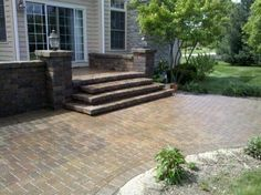 Paver Protector Inc. was contracted to powerwash, install polymeric sand and seal this brick paver patio.  | www.paverprotector.com #paverprotector