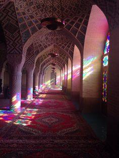 Nasir-ol-Molk Mosque   مسجد نصیرالملک in شیراز, فارس