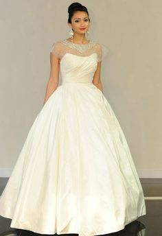 Abby Mitchell Event Planning and Design: Bridal Fashion Week Trends: Gowns