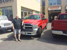 Stan could not be any happier to get into his new Ram 1500 and saying good bye to his old Ram.Thanks again for the business and enjoy the ride. #happyclient #ram1500 #kingstondodge