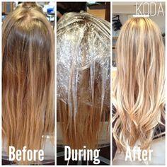 #blonde #balayage: