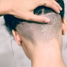 Outstanding Long hair styles detail are available on our web pages. look at this and you wont be sorry you did. Undercut Hairstyles Women, Short Hair Undercut, Messy Bob Hairstyles, Girls Short Haircuts, Short Hairstyles For Women, Buzzed Hair, Bouncy Hair, Shaved Nape, Hair Tattoos