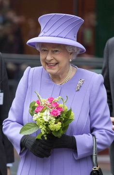 Queen Elizabeth, February 27, 2013 | The Royal Hats Blog......Posted on December 24, 2013 by HatQueen