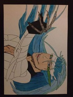 This is grimmjow from bleach