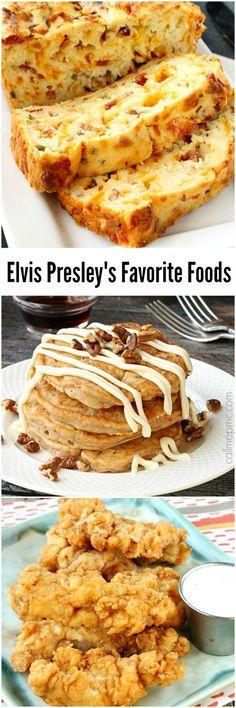 Tupelo Foodie: Elvis Presley Favorite Food Recipes