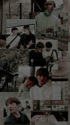 Taekook, Bts Aesthetic Wallpaper For Phone, Aesthetic Wallpapers, Bts Taehyung, Bts Bangtan Boy, K Pop, Exo Bts, Kpop Backgrounds, Vkook Memes