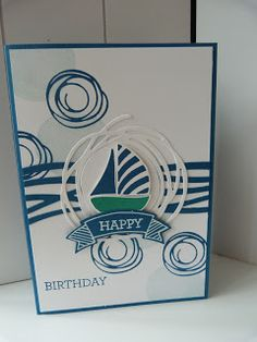 StampinClubNederland - Stampin Up! products and workshops: Swirly Bird - Happy Birthday