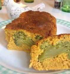 """Cake """"light"""" brocolis / carottes, Recette de Cake """"light"""" brocolis / carottes par Abricote 🍓"""