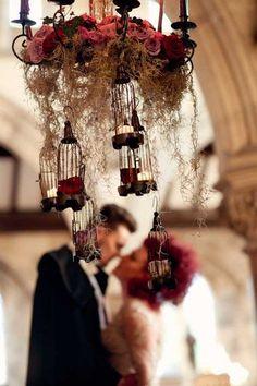 Dark Shadows – A Gothic Tim Burton Inspired Bridal Shoot