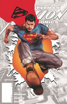 ACTION COMICS #0 by Ben Oliver