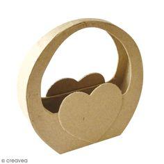 Compra nuestros productos a precios mini Canasta corazón MDF para decorar - 11,5 x 12 cm - Entrega rápida, gratuita a partir de 89 € !