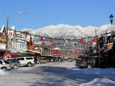 Google Image Result for http://www.thebarw.com/graphics/whitefish_winter.jpg  White Fish, MT.....close to Glacier National Park and such a cool town.  I could live here!