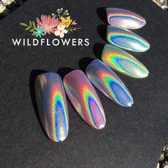 Unicorn Hologram Pigment Powder – Wildflowers
