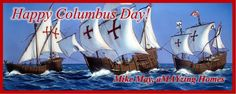 Happy Columbus Day!  If you happen to have the day off and would like to talk about buying or selling a home, give us a call; we are open! 804-731-0111 #columbusday #aMAYzingHomes #VirginiaRealEstate