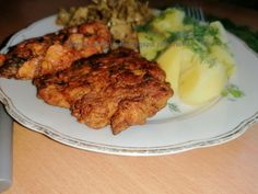 Polish Recipes, Polish Food, Tandoori Chicken, Pork, Meat, Ethnic Recipes, Kale Stir Fry, Polish Food Recipes, Pork Chops