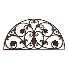 Tevin Decorative Wall Accent by Uttermost. Save 9 Off!. $195.80. Material: Iron. Finish: Matte Black. This decorative wall art is made of hand forged and hand embossed metal finished in heavily distressed, matte black with a light, rusty brown glaze.