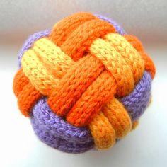 We Like Knitting: Braided Ball - Free Pattern More