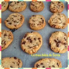 Lo más dulce de Sonia: Chocolate chips cookies