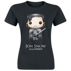 Funko Pop! - Jon Snow - T-Shirt by Game Of Thrones