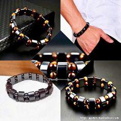 Hematite Bracelet, Stone Bracelet, Sea Jewelry, Mood Tracker, Ml B, Natural Energy, Healthy Women, Make A Gift, Boys