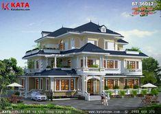House Balcony Design, Duplex House Design, Kerala House Design, Dream Home Design, Modern House Design, House Plans Mansion, Luxury House Plans, Dream House Plans, House Siding