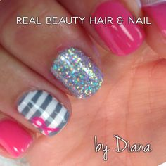 Breast-cancer nails