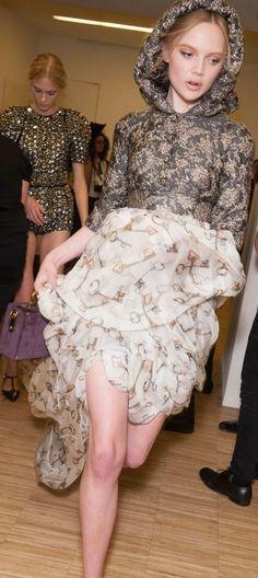 Backstage Pass: Dolce & Gabbana Fall 2014 - Milan Fashion Week