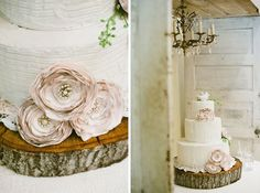 Rustic Wedding Cakes with an Elegant Touch | Contemporary Bride
