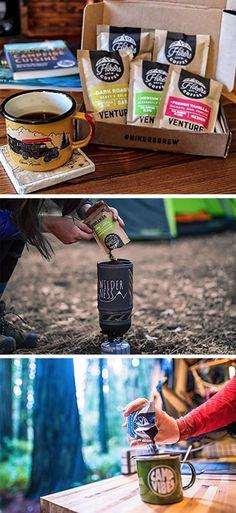 If you're an adventu Hiking Food, Backpacking Food, Thru Hiking, Camping Coffee, Coffee Roasting, Gourmet Recipes, Brewing, Snacks, Meals