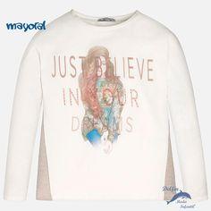 9a83795e845 Camiseta manga larga niña juvenil MAYORAL
