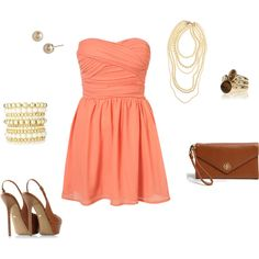 Heels are a little high, the dress is a little short, but a very cute outfit for a summer night out