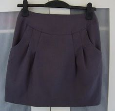 front pleated skirt tutorial