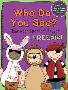 Halloween Emergent Reader - Free