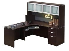 Corner Desk With Hutch | Office Furniture Corner Desk With Hutch Black Corner  Desk, Corner
