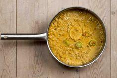 Kikerter i kokos og curry