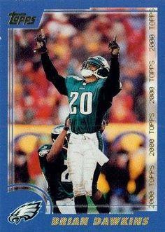 2000 Topps #131 Brian Dawkins - Philadelphia Eagles (Football Cards) by Topps. $0.88. 2000 Topps #131 Brian Dawkins - Philadelphia Eagles (Football Cards)