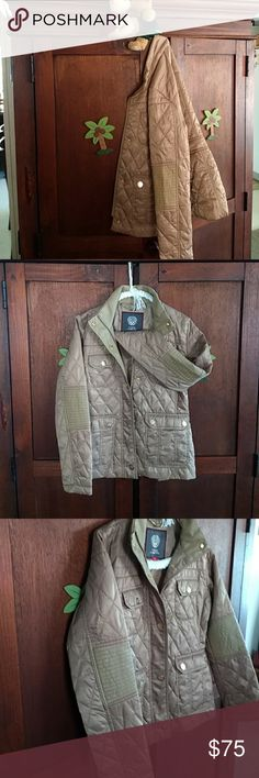 Vince Camuto Jacket The perfect fall jacket so soft and gorgeous bronze color with Gold crest buttons like new and a beautiful addition this is also in a buddle. Vince Camuto Jackets & Coats