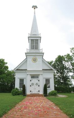 The Old Peace Chapel built in the 1800's.